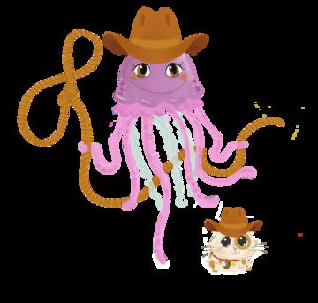 Jen jellyfish cowgirl