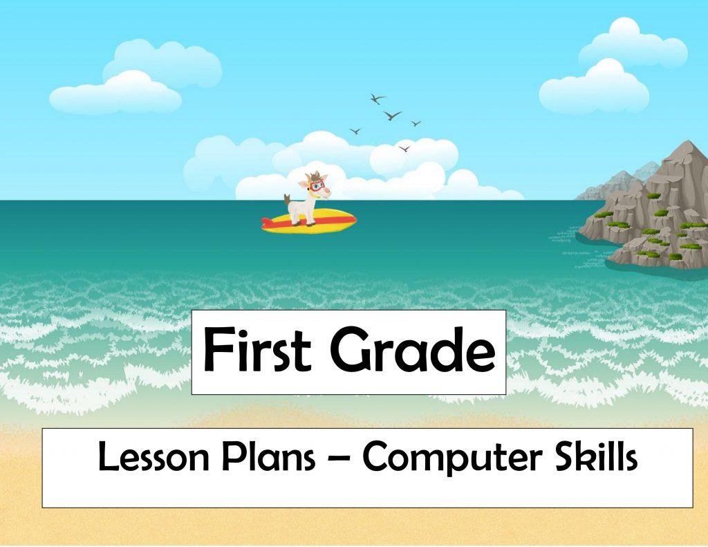 1st grade lesson plan goat ocean surfboard