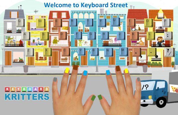 Keyboard Kritters Poster Keyboard street hands