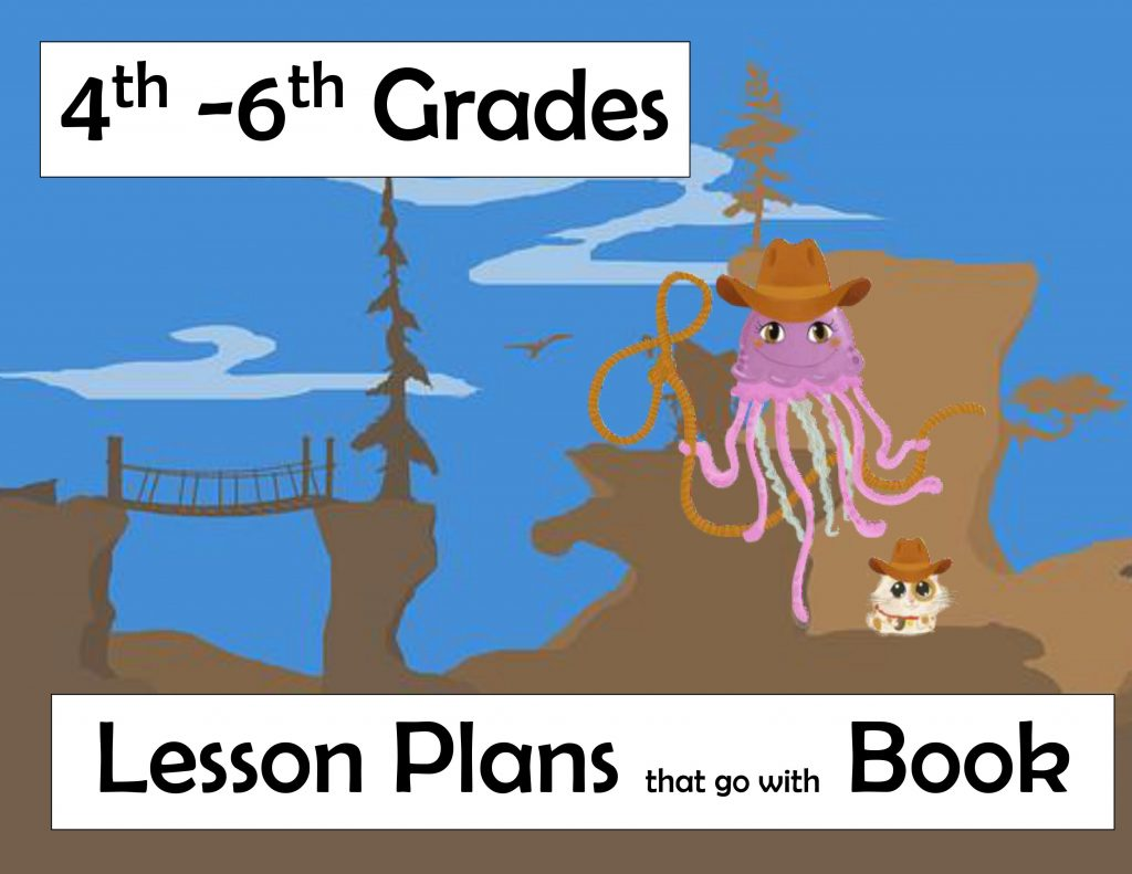 4th 5th 6th grade lessons plans jen jellyfish harriet hamster cowboy hat lasso