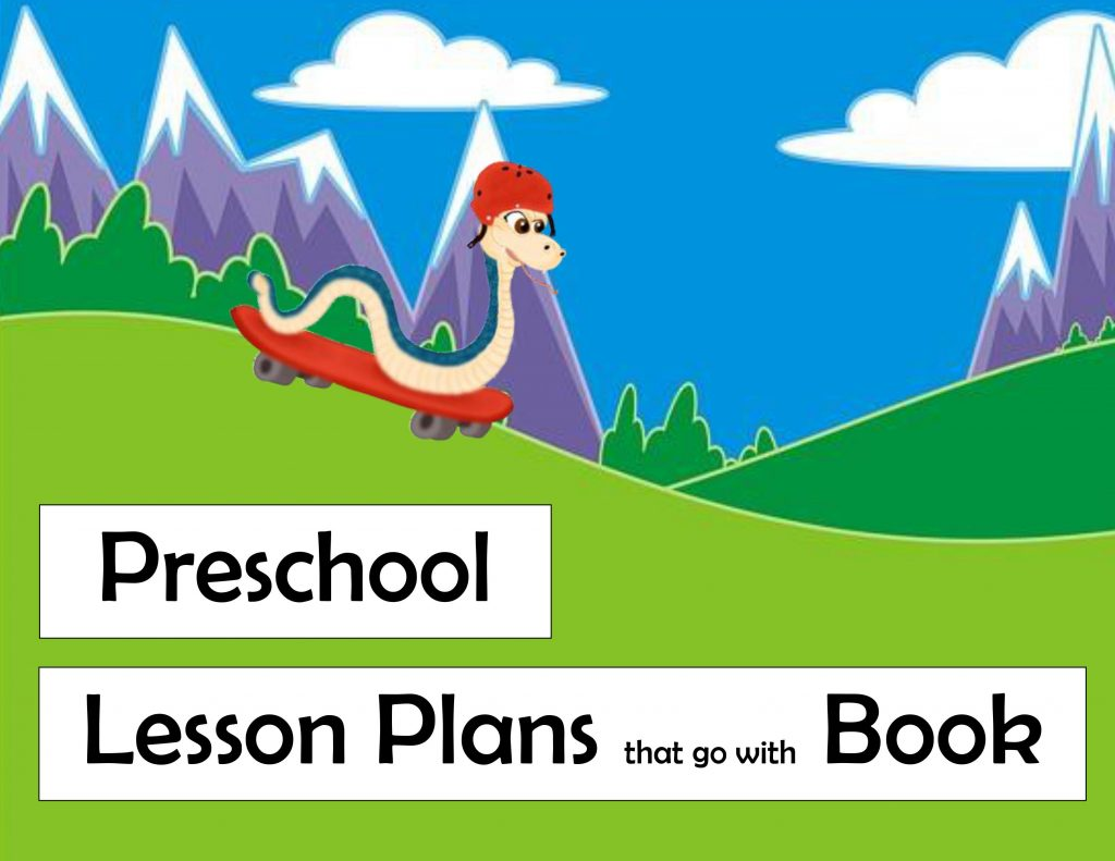 preschool lesson plans keyboard kritter book sammy snake skateboard